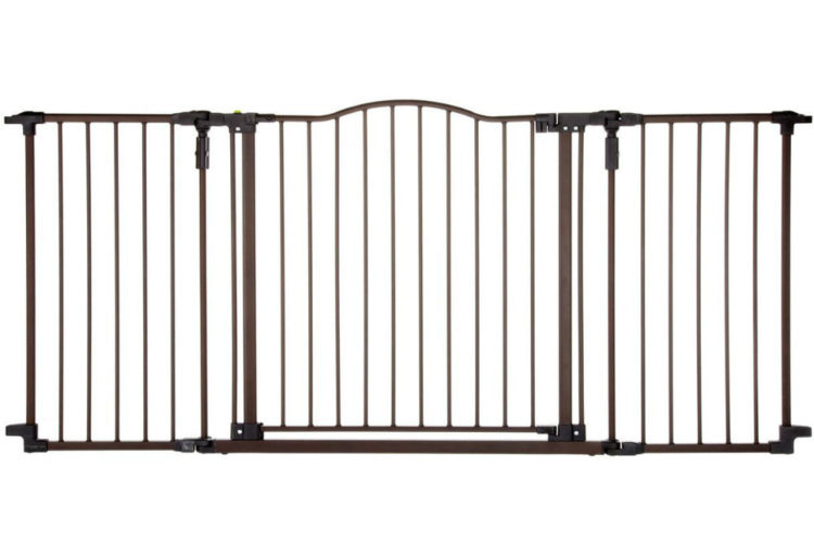 Supergate Easy Close Gate in White Review